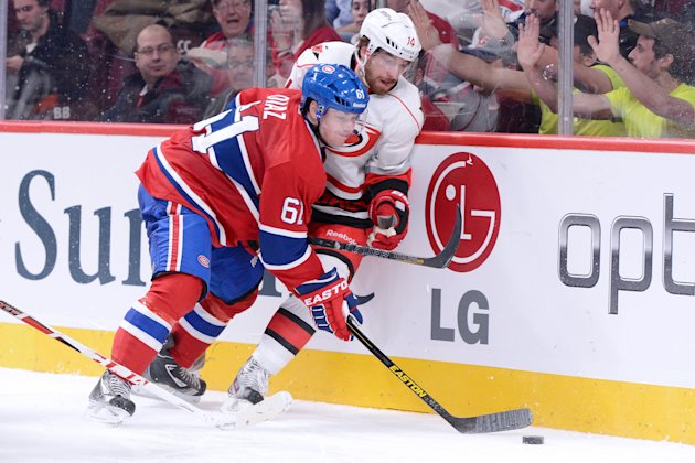 Carolina Hurricanes v Montreal Canadiens