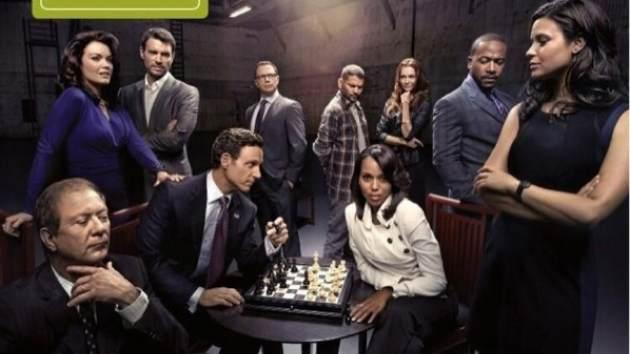'Scandal' cast -- ABC