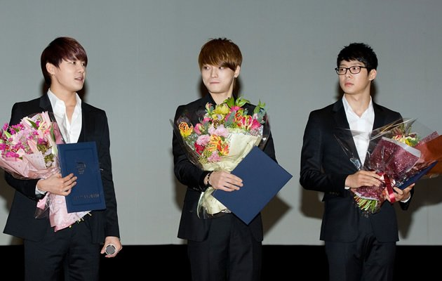 JYJ's three members have the most sasaeng stalking them (Getty Images)