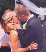 Chelsea Clair and Kyle Froelich were married on Oct. 12 this year.