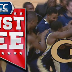 GT's Marcus Georges-Hunt Tips In Game-Winner To Beat #6 Miami | ACC Must See Moment Of 2013 Candidate