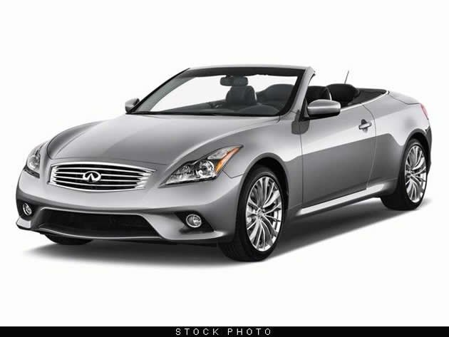 Infiniti G Convertible (Photo: Cheryl Tay)