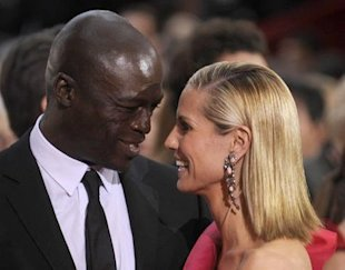 Seal and Heidi Klum. Photo: UPI Photo/Phil McCarten