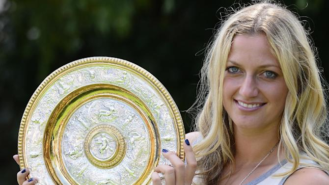 Petra Kvitova in Prague