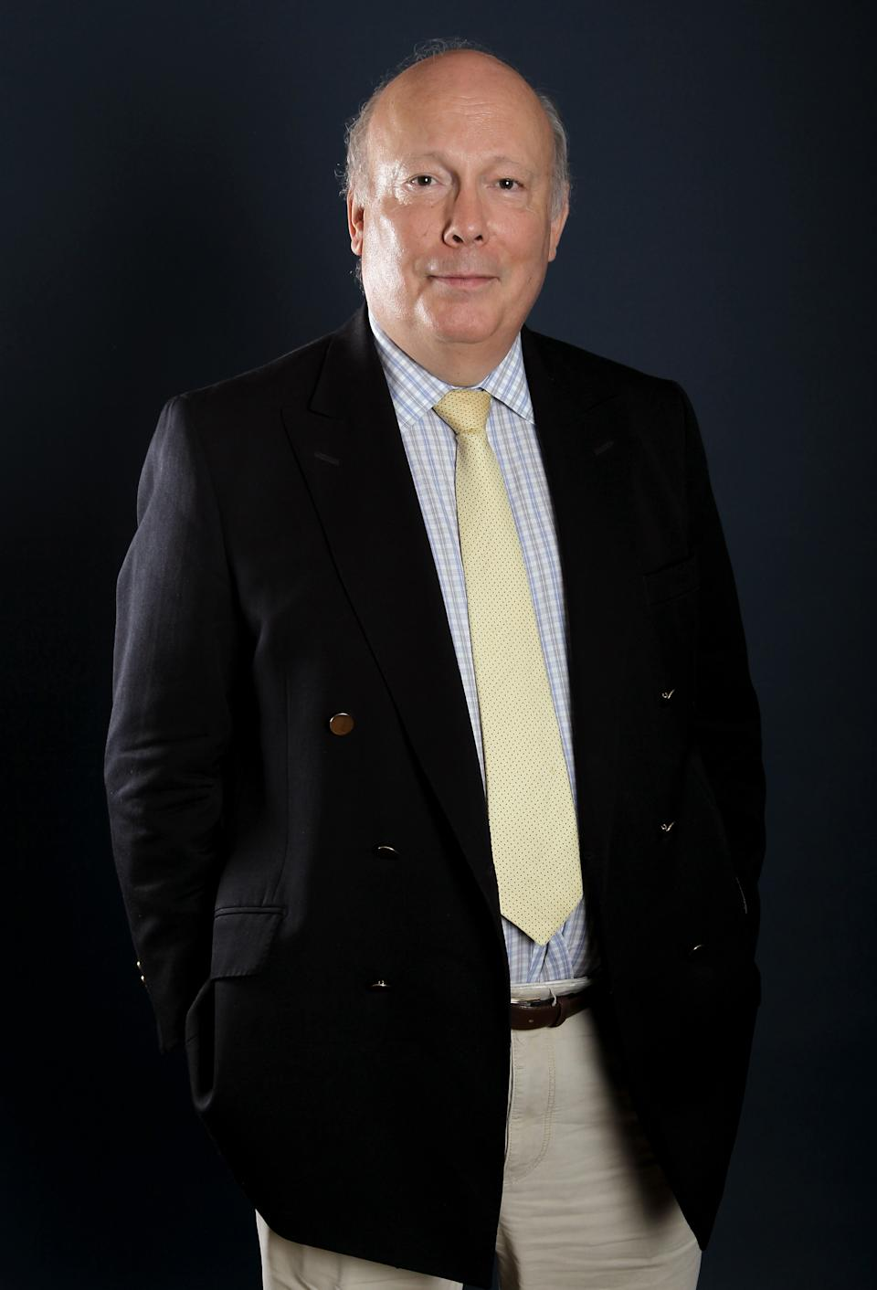 "Writer and producer Julian Fellowes, from ""Downton Abbey"", poses for a portrait during the PBS TCA Press Tour on Saturday, July 21, 2012, in Beverly Hills, Calif. (Photo by Matt Sayles/Invision/AP)"