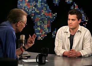 photo credit: AP Photo/CNN Larry King Live - Matthieu Young
