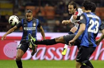 Inter 0-1 Bologna: Gilardino dents Nerazzurri's top-three aspirations