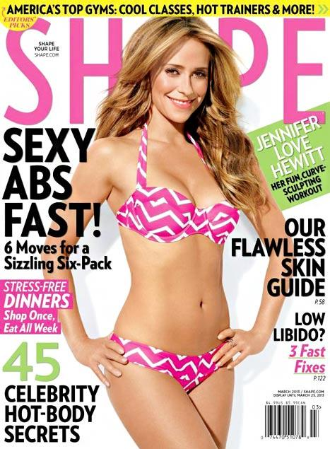 Jennifer Love Hewitt Unveils Incredible Bikini Body on Shape Cover