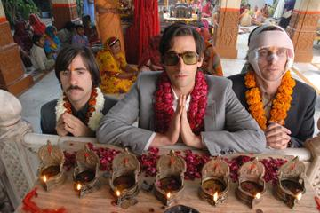 Jason Schwartzman , Adrien Brody and Owen Wilson in Fox Searchlight's The Darjeeling Limited