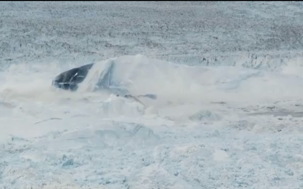 Further Evidence That Climate Change Is Real: This Giant Glacier Breaking Apart