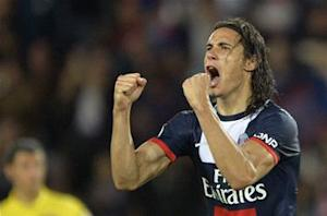 Paris Saint-Germain 1-1 Ajaccio: Cavani saves home side's blushes