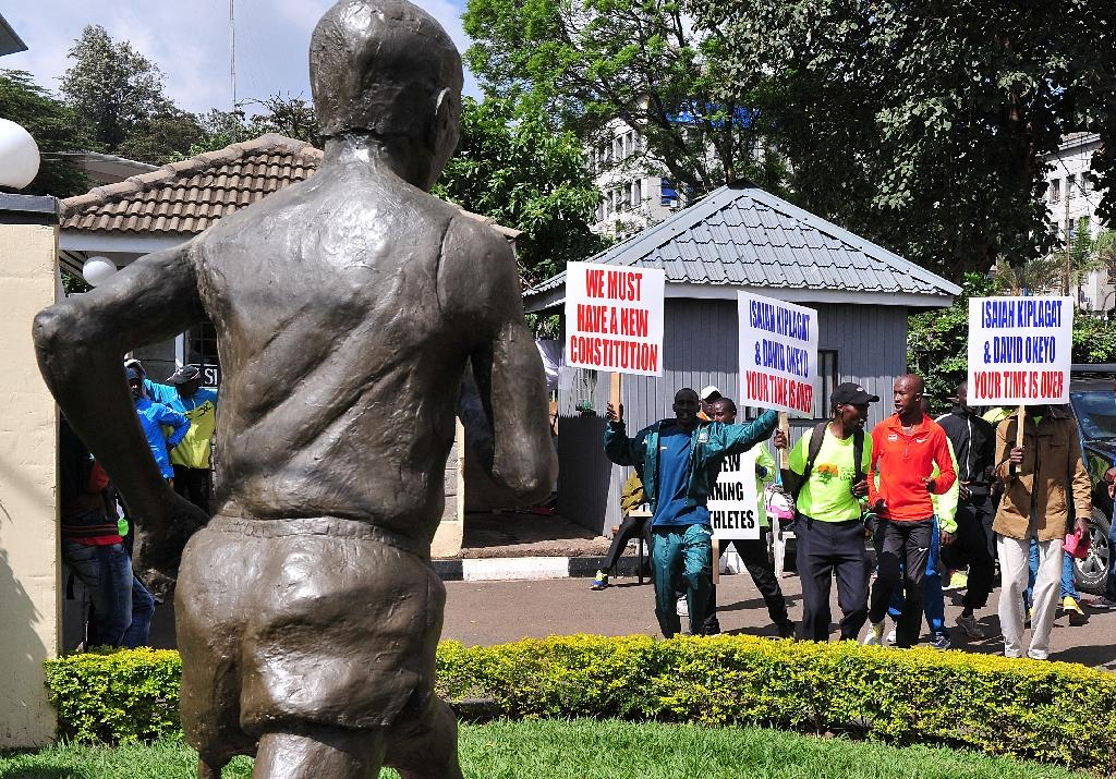 Athletes' barricade ends, deal struck at Kenya athletics HQ