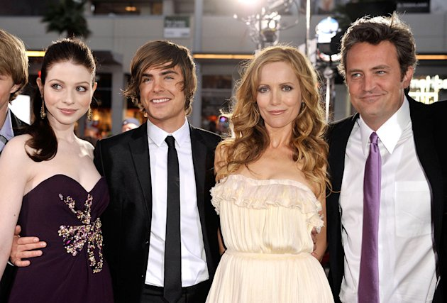 17 Again LA Premiere 2009 Michelle Trachtenberg Zac Efron Leslie Mann Matthew Perry