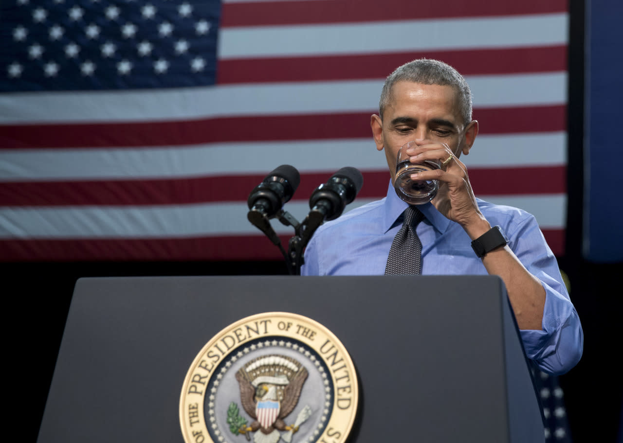 Obama makes first trip to Flint since water crisis began