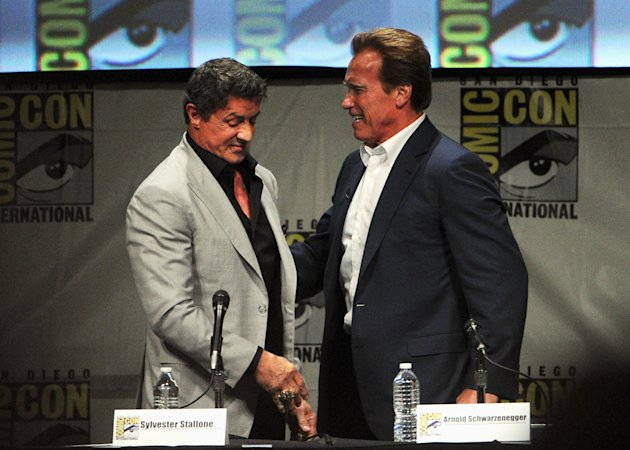 Comic-Con International 2012 - &quot;The Expendables 2 - Real American Heroes&quot; Panel