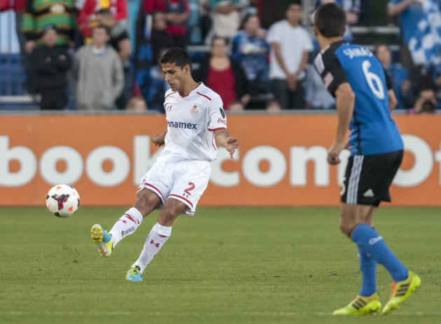 MLS: Champions League-Toluca FC at Sn Jose Earthquakes