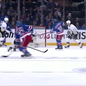 McDonagh blasts a power-play goal by Fleury