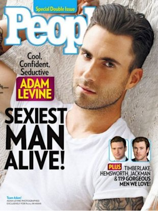 Adam Levine, the sexiest man alive