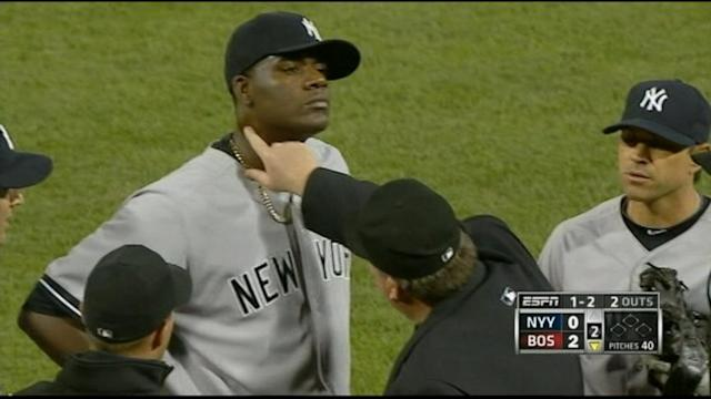 Yankee Pitcher's Ejection Causes Huge Social Media Backlash