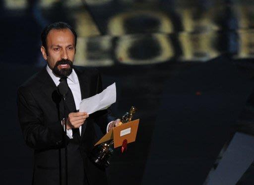 دریافت جایزه اسکار توسط اصغر فرهادی[درود بر  ایران و  ایرانیان]