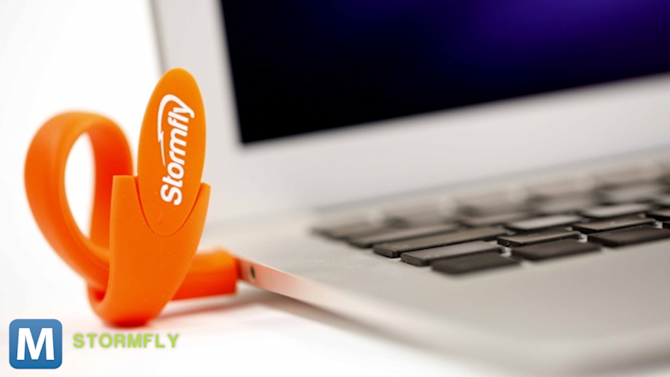 Carry Your PC on Your Wrist with StormFly