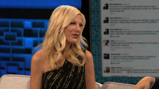 "Ross Gets ""90210"" Dirt from Tori Spelling"