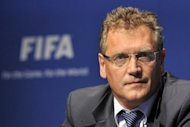 "The Brazilian government Monday described FIFA chief Jerome Valcke, pictured in 2011, as a shameless ""loudmouth"" for his mounting criticism of Brazil's lagging preparations for the 2014 World Cup, a news report said"