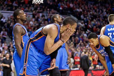 Russell Westbrook has surgery on his cheekbone, will miss time