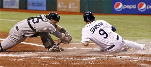 Sean Rodriguez keys Rays win over the Yankees