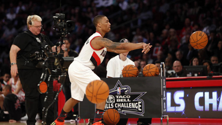 NBA: All Star Game-Skills Challenge