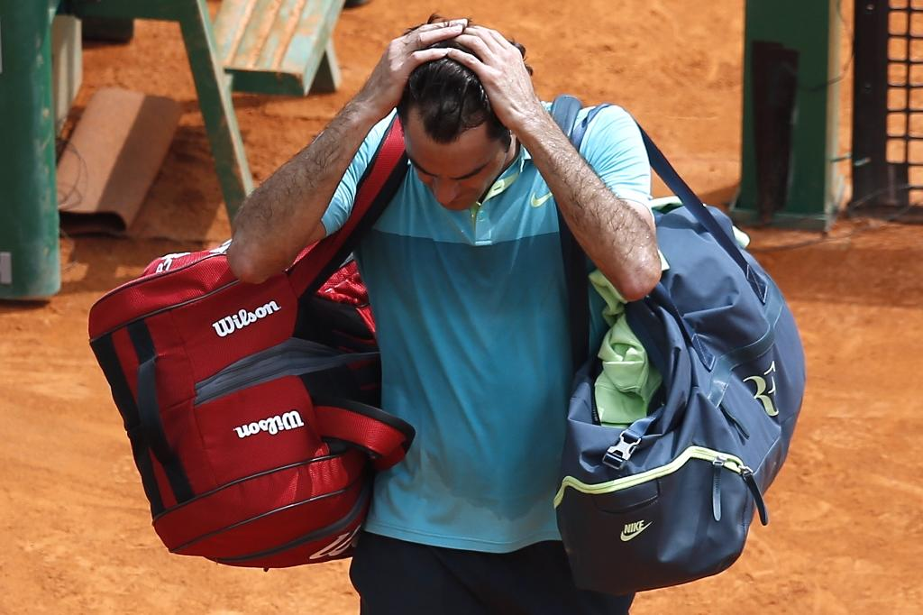 Federer plotting clay strategy after Monte Carlo setback