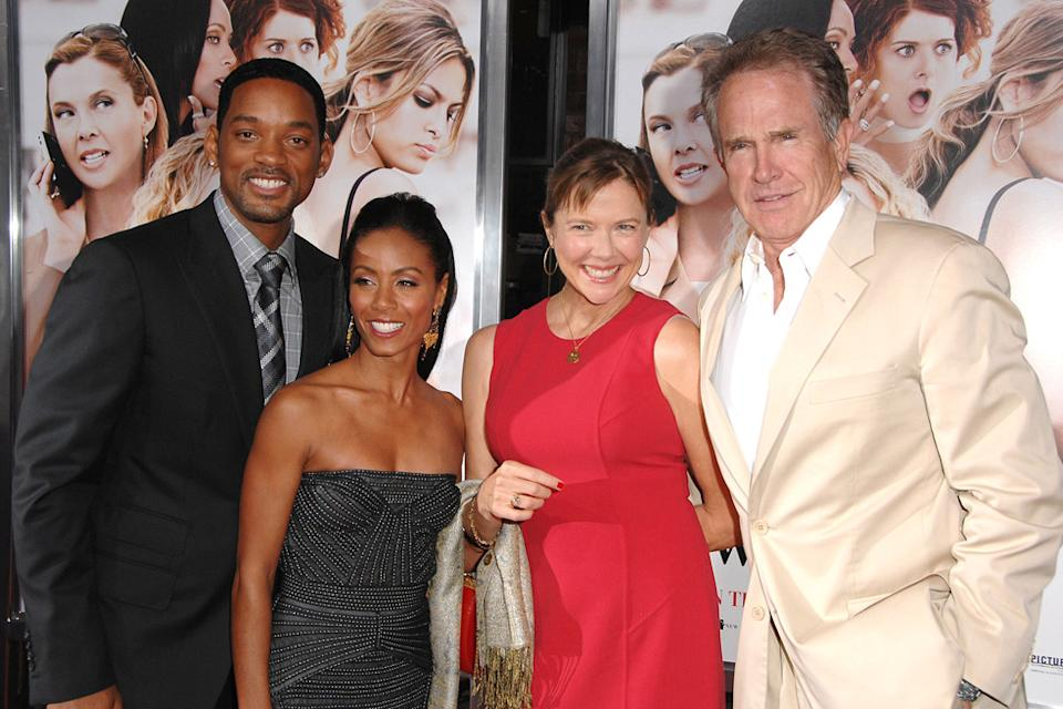 The Women LA Premiere 2008 Will Smith Jada Pinkett Smith Annette Bening Warren Beatty