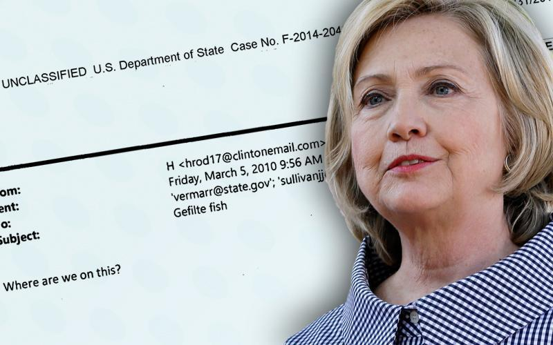 That time Hillary Clinton emailed about gefilte fish