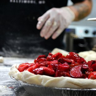 Strawberry Rhubarb pie from Dangerously Delicious (Credit: Flickr)