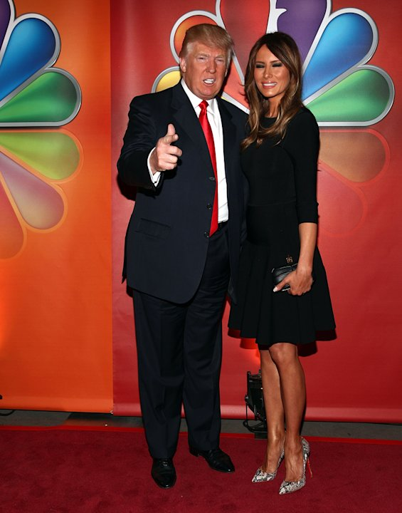 Donald Trump and Melania  …