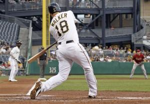 Walker's homer, 5 RBIs lead Pirates past Arizona