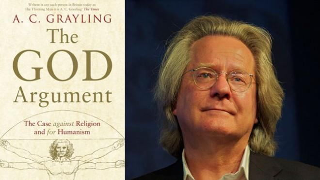 British philosopher A.C. Grayling and his forthcoming book.