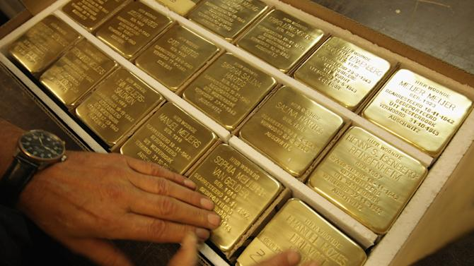 Stolpersteine Project Commemorates Victims Of The Holocaust