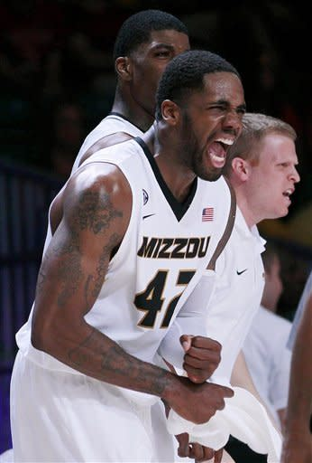 Bowers leads No. 13 Missouri over Stanford 78-70