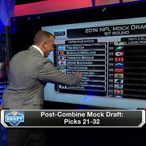 Mock draft: Who will go at the end of the first round?