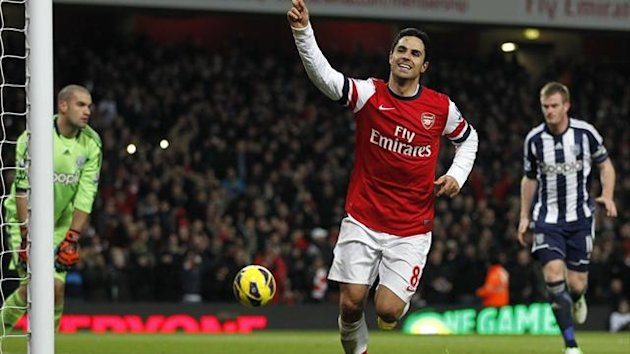 Mikel Arteta schiet Arsenal zum Sieg