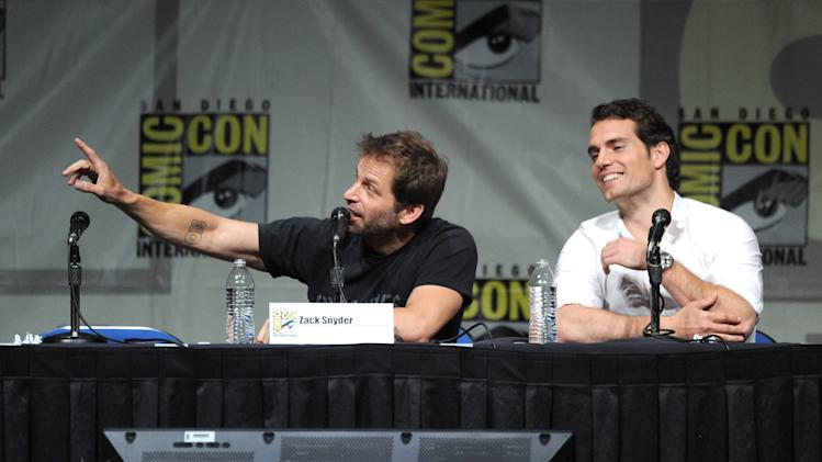 "Warner Bros. Pictures And Legendary Pictures Preview - ""Man Of Steel"" - Comic-Con International 2012"