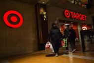People shop at a Target store during Black Friday sales in the Brooklyn borough of New York, in this November 29, 2013, file photo. REUTERS/Eric Thayer/File