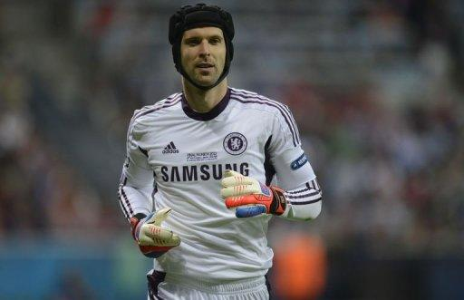 Cech saved an extra-time penalty from Arjen Robben and denied spot-kicks from Olic and Schweinsteiger