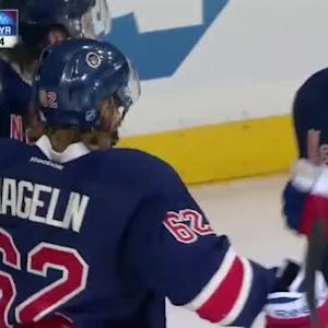 Carl Hagelin Goal on Dustin Tokarski (01:40/3rd)