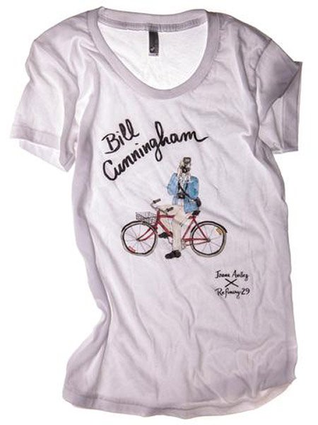 Bill Cunningham illustrated tee, $25, refinery29.com/gifts