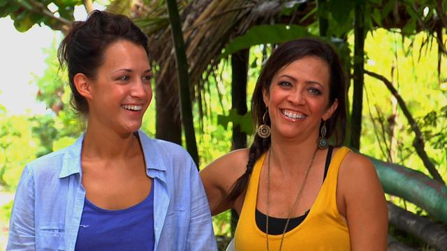 Survivor: Blood vs. Water - Meet Laura and Cierra
