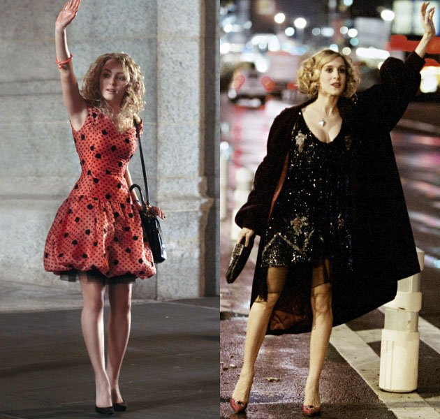 Robb channels sarah jessica parker in new 'carrie diaries' photo