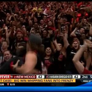 Basket case! Big win whipping Aztecs fans into a frenzy