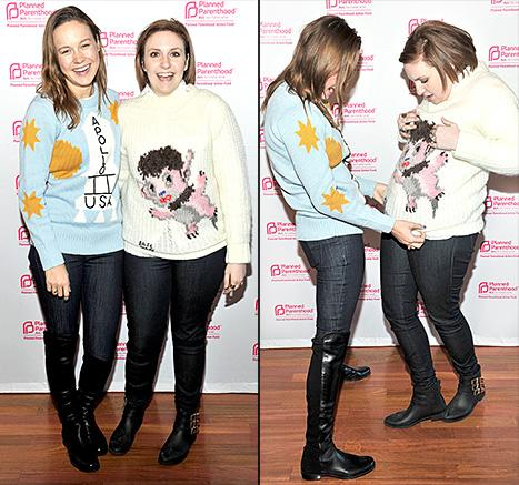 Lena Dunham, Hailee Steinfeld Lead the Ugly Sweater Trend at Sundance Film Festival 2015